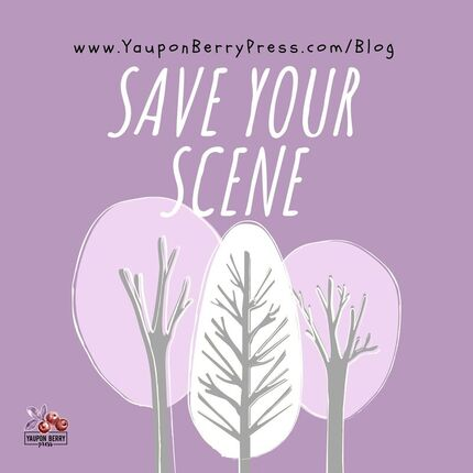 Image text: Save Your Scene